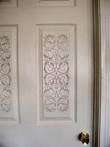 hometalk idea using new panel stencil With kitchen cabinets lowes with stencils wall art