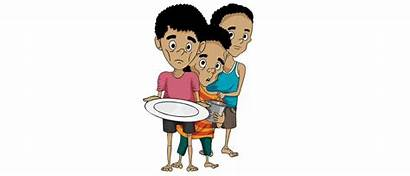 Child Malnutrition Malnourished Clipart India Neglected Problem