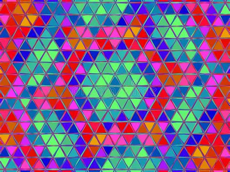 abstract multicolored background mosaic design template