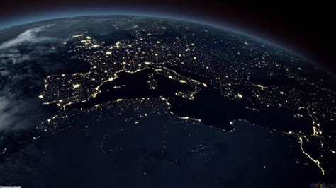 earth  night europe hd wallpaper wide screen