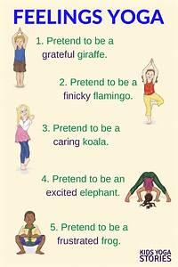 Emotions Yoga (Printable Poster) | Feelings, Yoga and ...