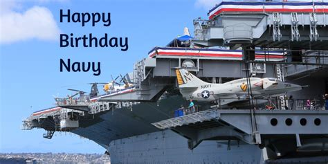 navy birthday celebrated