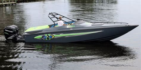 Performance Sports Boats by Baja Marine Kicks Outboard Powered Sportboat Line