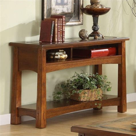 riverside furniture console table riverside craftsman home console table 2915