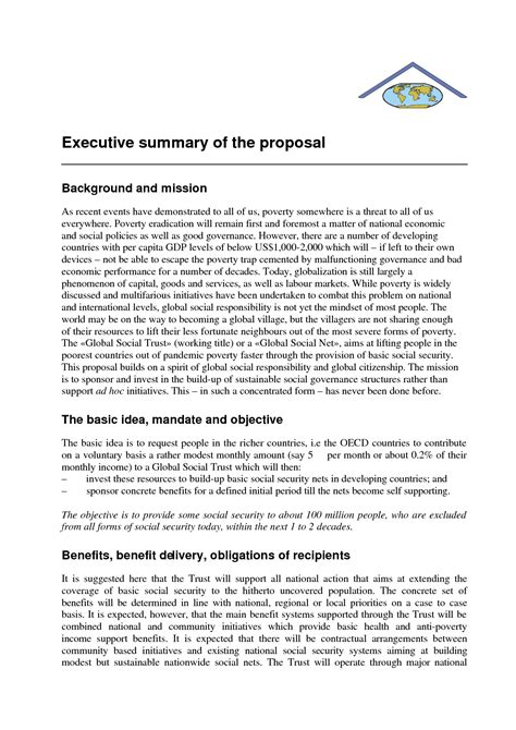 Executive Summary For Resume Sle by Executive Profile Template Sle Flow Charts In Word