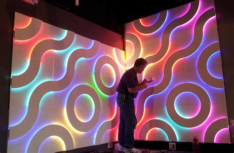 galaxy design system wall panels led wood panels