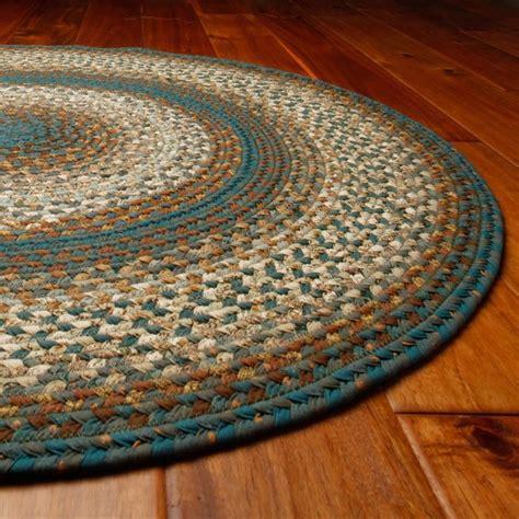 homespice decor cotton smugglers cove braided rug multicolor 401151 contemporary rugs