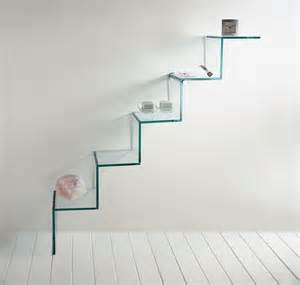 Hue Lights Review by Tonelli Scala Del Cielo Glass Shelf Contemporary