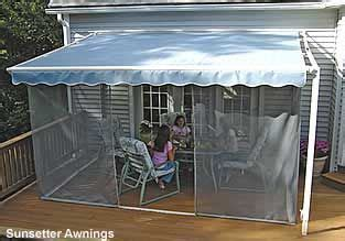 screen porch kits install  awnings    porch