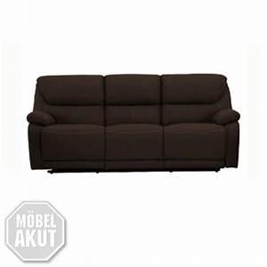 3er Sofa Mit Relaxfunktion : 3er sofa berano polsterm bel in braun wei mit relaxfunktion neu ebay ~ Bigdaddyawards.com Haus und Dekorationen