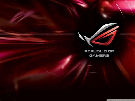 Asus Rog 4k Hd Desktop Wallpaper For 4k Ultra Hd Tv • Wide