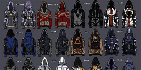This fanartist's 'Mass Effect' hoodie designs are finally