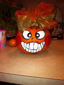 Halloween Kürbis Bemalen : painted pumpkin halloween pinterest k rbis bemalen ~ Eleganceandgraceweddings.com Haus und Dekorationen
