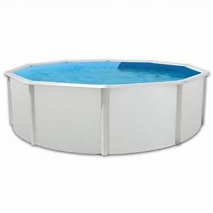 Tapis Piscine Hors Sol : prestigio piscine ronde en acier avec tapis 350x120cm ~ Dailycaller-alerts.com Idées de Décoration