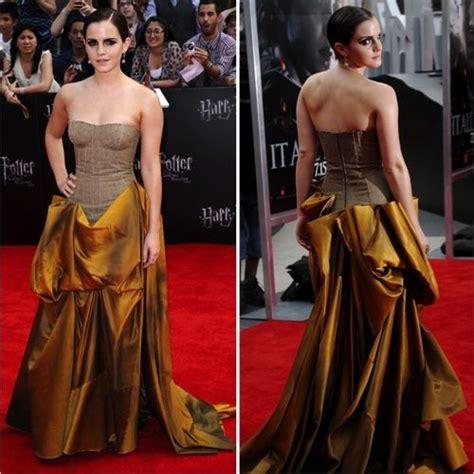 Nice Dress Celebs Emma Watson Fashion Strapless