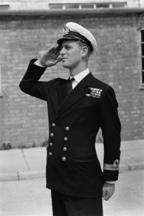 11 Pictures of Young Prince Philip in His Naval Uniform ...