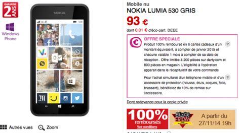 offre lumia 530 100 rembours 233 difficile de trouver moins cher nokians la parole aux