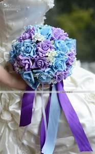 New Style Handflower Wedding Bouquet Artificia 30 Rose ...