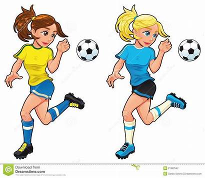 Football Joueuses Voetbal Soccer Female Players Femelle