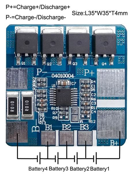 Aliexpress Buy Protection Circuit Bms Pcm Pcb