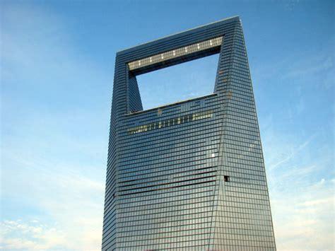 large glass windows shanghai financial center facts address height