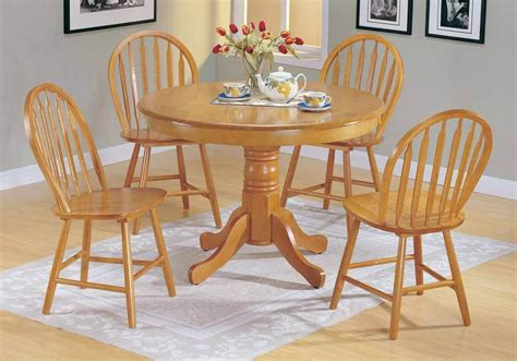 farmhouse style round dining table farmhouse 5 pc country solid wood round dining pedestal