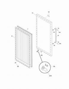 Frigidaire Commercial Freezer  Refrigerator Parts