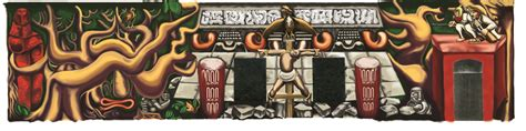 David Alfaro Siqueiros Mural Olvera by Siqueiros Americ 225 Tropical Project Exhibition Inquisition