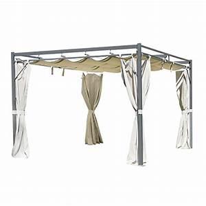metall pavillon mit festem dach metall pavillon mit With französischer balkon mit gebrauchte sonnenschirme 4x4 meter