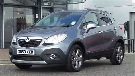 vauxhall grey 2013 63 plate vauxhall mokka 1 7 cdti se 5dr in grey youtube