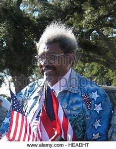 Boxing promoter Don King (left) seen here with Larry ...