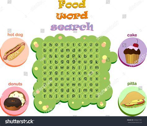 logic game learning english find hidden stock illustration