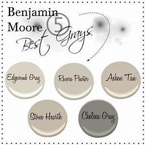 The Penny Parlor: Benjamin Moore Five Best Grays