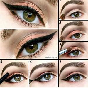 Cute Simple Makeup Ideas For Brown Eyes   Eye makeup