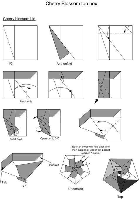 Best Modular Origami Boxes Images Pinterest