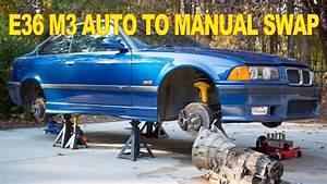 Bmw E36 M3 Auto To Manual Swap