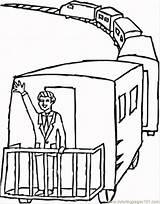 Caboose Coloring Train Drawing Printable Getdrawings Popular Getcolorings Coloringhome sketch template