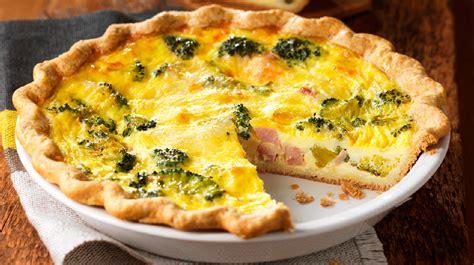 cuisine lorraine recette quiche au jambon et au brocoli recettes iga fromage
