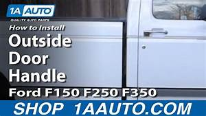 Replace A Door Latch On A 1997 Ford F150 4x4