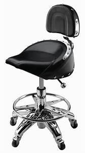 Garage Seat 77 : chrome bar stool leather cushion seat pneumatic biker chair rolling shop garage shops bar ~ Gottalentnigeria.com Avis de Voitures