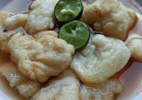 128 resep cireng banyur ala rumahan yang mudah dan enak dari komunitas memasak terbesar dunia! Resep Cireng guyur kuah pedas oleh Pawon Ami - Cookpad