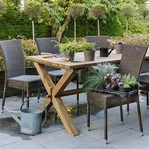 Chaise De Jardin En Resine : chaise de jardin en aluminium et r sine tress e brin d 39 ouest ~ Farleysfitness.com Idées de Décoration