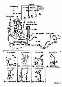Wiring  U0026 Clamp For 1994   Tarago Tcr10