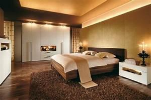 modernes wohnen 58 wunderschone beispiele With balkon teppich mit luxus tapeten schlafzimmer