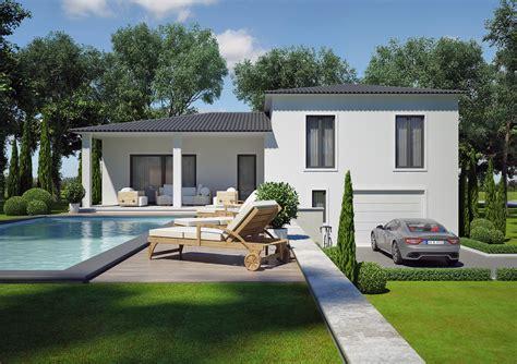 cours de cuisine vaucluse modèle villa contemporaine 100m2 demi étage agate azur logement provençal