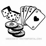 Cards Casino Gambling Vector Dice Poker Chips Playing Drawing Coloring Pages Vectors Clip Drawings Tattoo Deck Kerra Ashly Dds Williamson sketch template