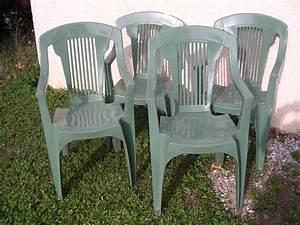 Chaise Jardin Plastique : prix d 39 une chaise de jardin en plastique ~ Teatrodelosmanantiales.com Idées de Décoration