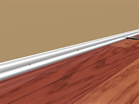 how to install new baseboard 4 steps with wikihow