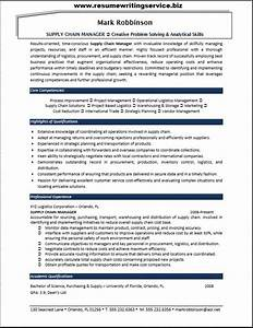 supply chain manager resume sample resume writing service With supply chain coordinator resume sample