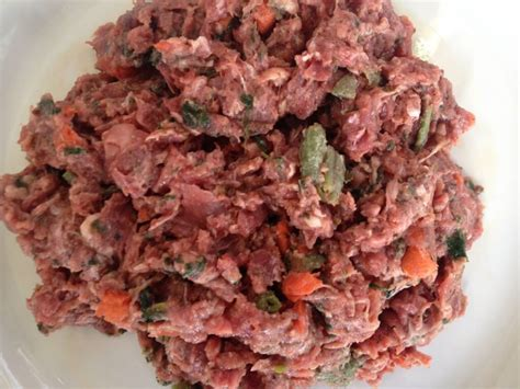 diy raw dog food dogs